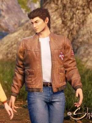 Video Game Shenmue 3 Ryo Hazuki Leather Jacket