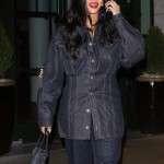 Singer Robyn Rihanna Fenty Denim Jacket
