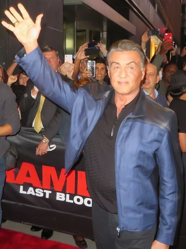 Sylvester Stallone Rambo Last Blood film premiered