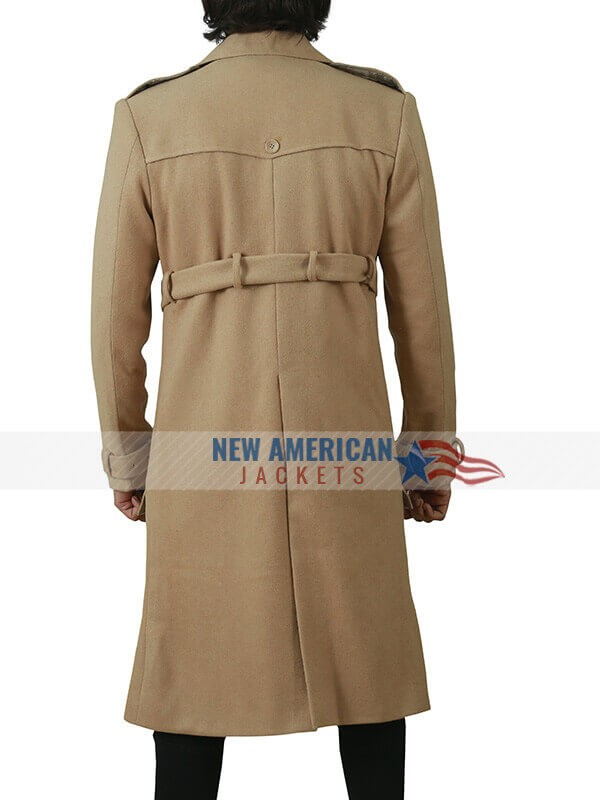 Tom Movie Last Christmas Henry Golding Cotton Trench Coat
