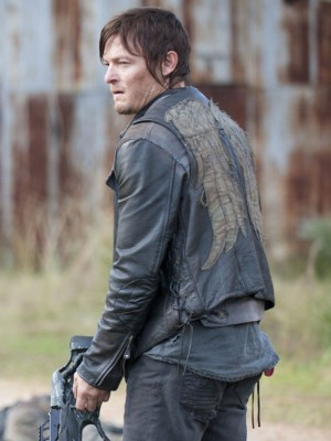 Walking Dead Daryl Dixon Black Vest