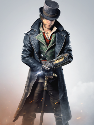 Assassins Creed Syndicate Leather Coat - New American Jackets
