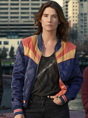 Stumptown Cobie Smulders Satin Jacket
