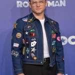 Elton John Rocketman Taron Egerton Denim Jacket