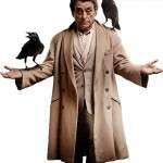 Ian McShane Wool Coat