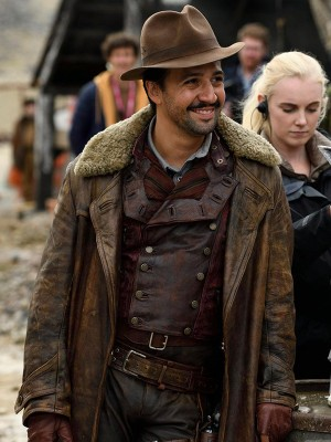 Lin-Manuel Miranda His Dark Materials Lee Scoresby Coat