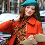Modern Love Lexi Anne Hathaway Orange Coat