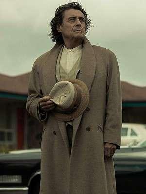 American Gods Ian McShane Wool Coat