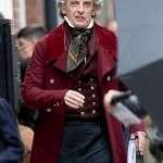 Peter Capaldi The Personal History of David Copperfield Maroon Wool Coat