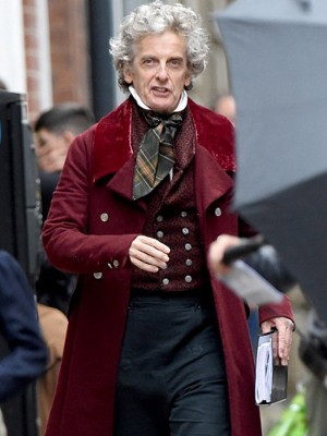 The Personal History of David Copperfield Peter Capaldi Trench Coat