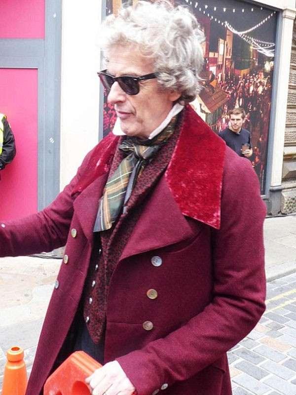 Peter Capaldi Trench Coat