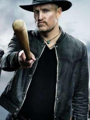 Woody Harrelson Zombieland Double Tap Tallahassee Black Jacket