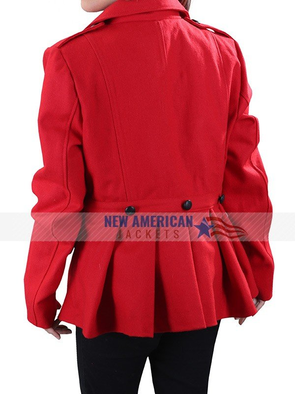 Christmas in Love Red Coat