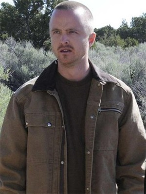 Aaron Paul Breaking Bad Brown Jacket
