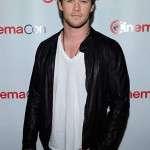 Actor Chris Hemsworth Leathe Jacket
