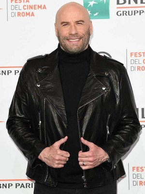 John Travolta Black Jacket