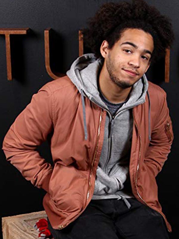 Actor Jorge Lendeborg Jr. Casual Jacket