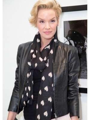 Ashley Scott Casual Leather Jacket