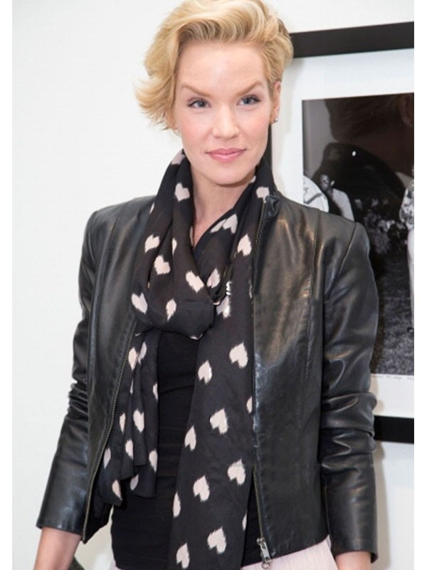 Actress Ashley Scott Classic Casual Jacket