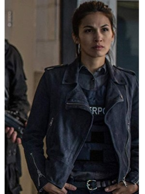 The Hitman's Bodyguard Amelia Roussel Biker Jacket