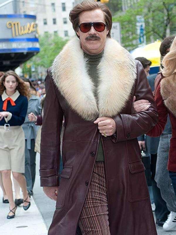 Anchorman 2 The Legend Continues Will Ferrell Coat