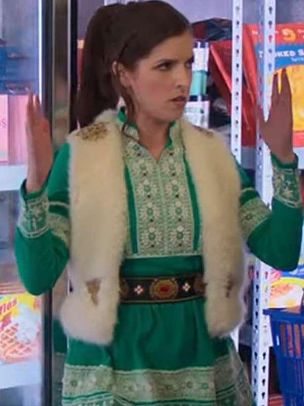 Anna Kendrick Shearling Vest
