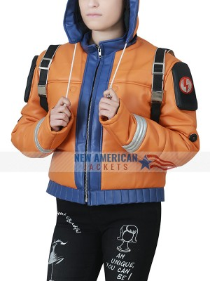 Apex Legends Hooded Leather Jacket