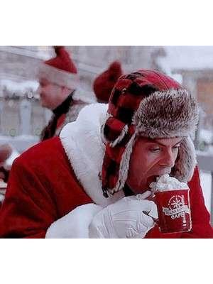 Bill Hader Noelle Christmas Costume Coat