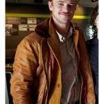 Boyd Holbrook Tan Brown Leather Jacket