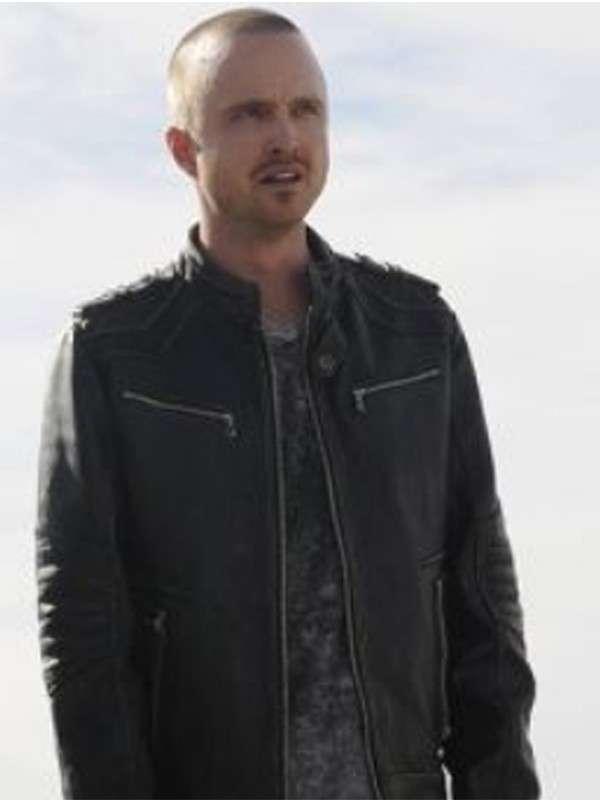 Breaking Bad Black Leather Jacket