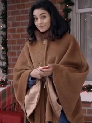 Vanessa Hudgens The Knight Before Christmas Wool Coat