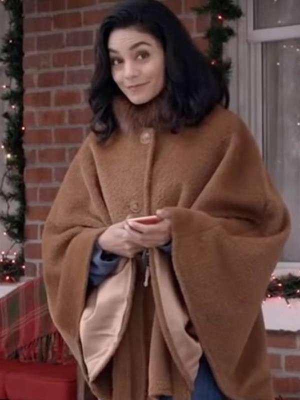 Brooke The Knight Before Christmas Vanessa Hudgens Poncho Cape Coat
