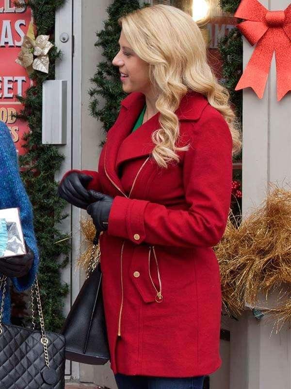 Candace Livingstone Entertaining Christmas Coat