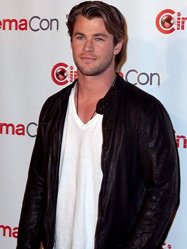 Chris Hemsworth Leather Jacket