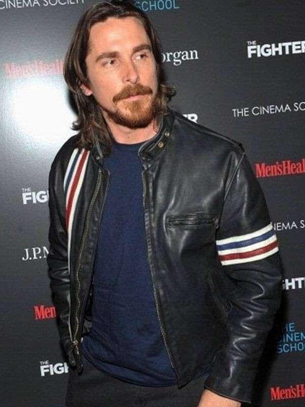 Christian Bale Stylish leather Jacket