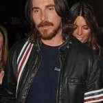 Christian Bale stripe design Jacket