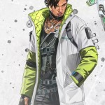 Crypto Apex Legends Quilted Leather Jacket