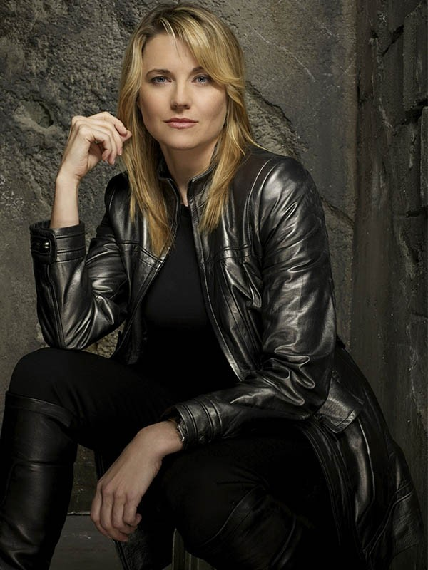 D'Anna Biers Battlestar Galactica Leather Jacket