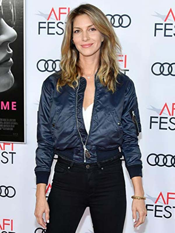 Dawn Olivieri Molly's Game Event Satin Jacket