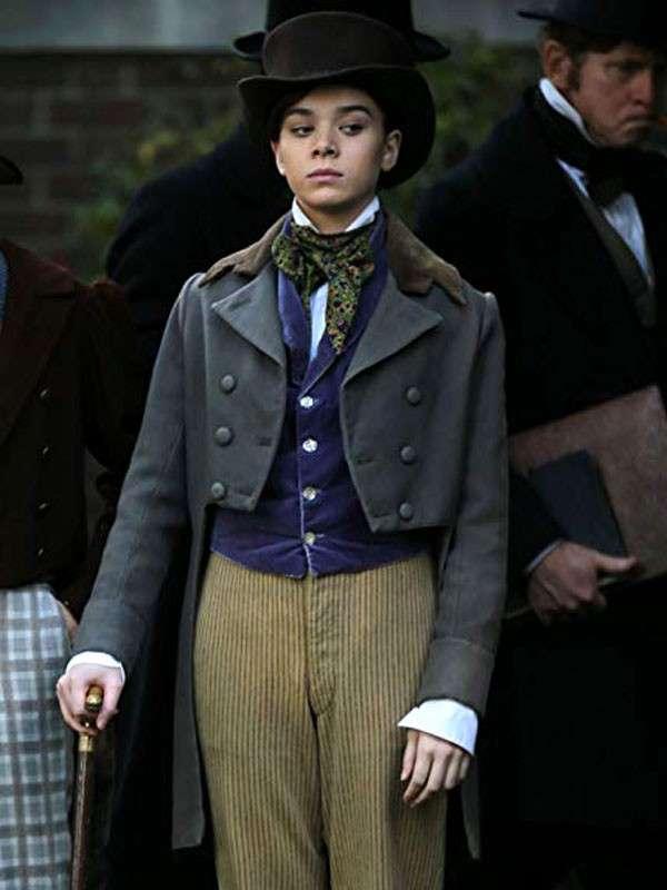 Dickinson Hailee Steinfeld Black Coat
