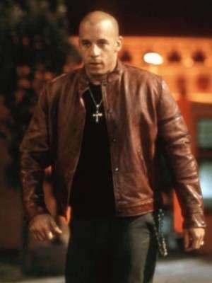 Vin Diesel Fast and Furious Brown Jacket