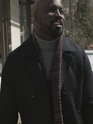 E‎vil Mike Colter Black Coat