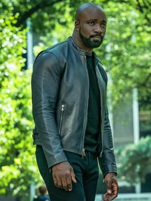 Evil Mike Colter Black Leather Jacket