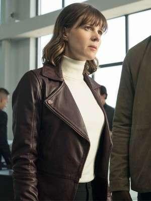 Evil Katja Herbers Leather Jacket
