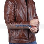 Fast and Furious Vin Diesel Brown Leather Jacket