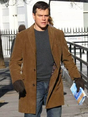 Hereafter Matt Damon Brown Coat