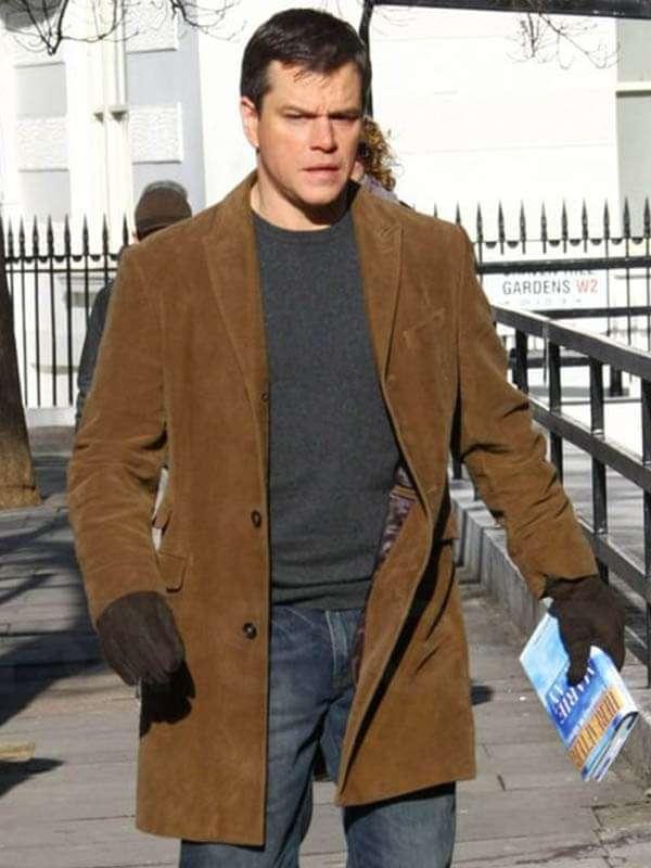 George Lonegan Hereafter Brown Coat