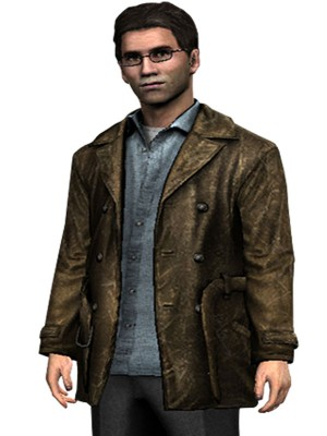 Video Game Silent Hill Harry Mason Jacket