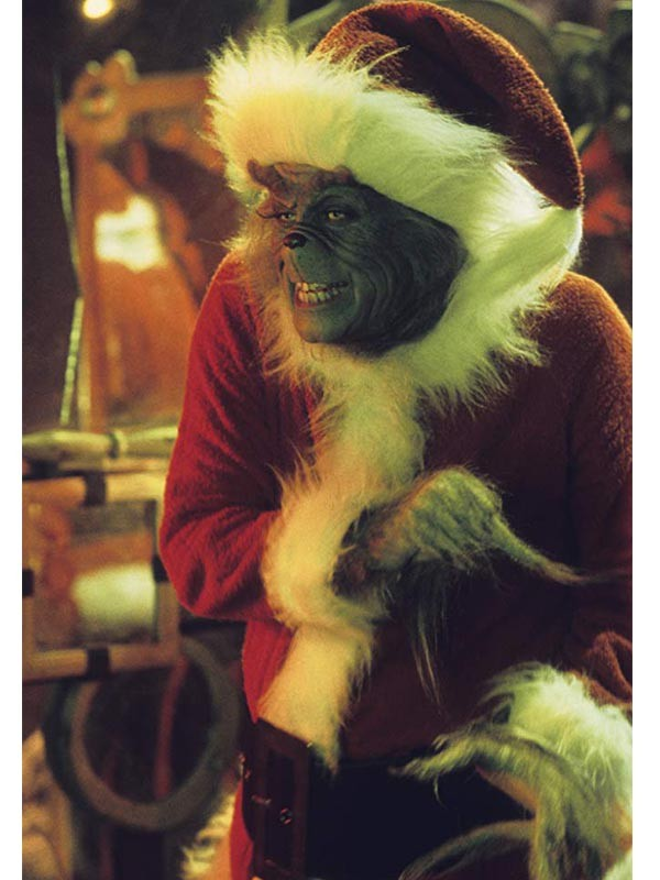 How the Grinch Stole Christmas Grinch Red Coat