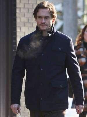 Hugh Dancy Hannibal 4 pockets Jacket